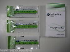 Original BMW Innenraumduft Natural Air Nachfüllset Green Tea 3 x Refill-Sticks