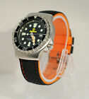 Silicone rubber watch strap Perforated & contrast stitched Various colours 22mm