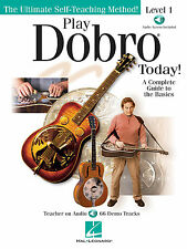 Play Dobro Today! Level 1 A Complete Guide To The Basics Book NEW!