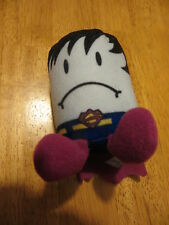 Sonic 2012 Tots Justice League Plush Bizarro Superman Tot Stuffed Toy approx 4""