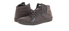 Calvin Klein Men's Shoes Nickolai Suede High Top Sneakers Gray F0304 Size 9.5US