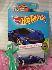 Case F 2016 Hot Wheels McLAREN P1 #71✰Dark Blue; 10sp✰HW Exotics