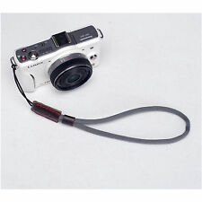 Grey Camera Nylon Hand Wrist strap For Canon Nikon Panasonic Sony Fuji Samsung