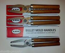 LEE 6 Cavity Mold Handles 3 Pack New In Package #90005 3 Pack