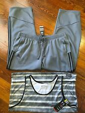 UNDER ARMOUR ADIDAS MENS SIZE 2XL LOT TANK TOP SHIRT PANTS ATHLETIC GRAY $90 NEW