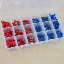 360Pcs Insulated Car Electrical Wire Terminals Crimp Connector Spade Set Kit
