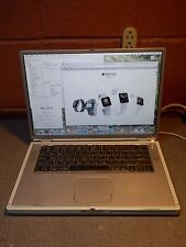 "Apple Powerbook G4 Titanium A1025 15.2"" 867Mhz 1.0GB 80GB SuperDrive 10.5.8 Wifi"