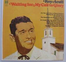 Roy Acuff, Waiting for my Call to Glory vinyl LP Harmony HS 11334 NM!