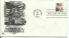 1981 FLAG OVER THE SUPREME COURT SHEET STAMP ART CRAFT CACHET UNADDRESSED FDC