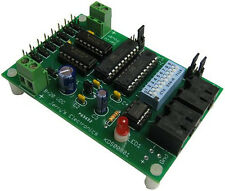 8 Channel DMX 512A Controlled Servo Controller Board Assembled and Tested