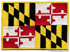 MARYLAND STATE FLAG PATCH EMBROIDERED IRON-ON new APPLIQUE EMBLEM MD
