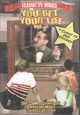 You Bet Your Life, Vol. 2 (DVD, 2003 Passion) Groucho Marx/4 Classic TV Episodes