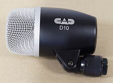 NEW CAD Audio D10 Bass & Kick Drum Mic Dynamic Cardioid D 10
