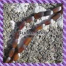 17 perlen aus horn Kegelrad oval 9 x 18 mm