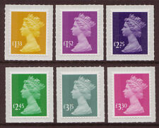 GREAT BRITAIN 2015 TARRIFF CHANGE NEW MACHINS SET OF 6 CODE M15L UNMOUNTED MINT,