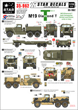 Star Decals, 35-962, Decal for M19 Diamond Tank transporter#2, 1:35