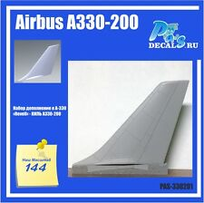 1/144 Airbus A330-200 Revell A330 Conversion Kit. Keel