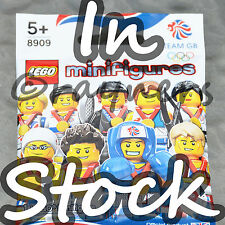 (All 9 Factory Sealed) LEGO Team GB Olympic Minifigures London 2012 | Full Set