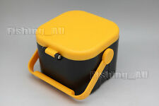 Worms Maggots Fishing Live Bait Box Container Fishing Tackle Case