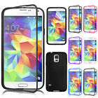Slim Flip TPU Case With Bulit-in Front Cover For Samsung Galaxy S5 SM-G900