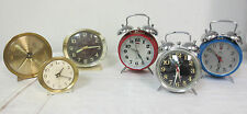 *VINTAGE* ALARM CLOCK LOT (6) WESTCLOX / BIG BEN / BABY BEN / XISEN / FIVE RAMS
