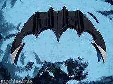 batman keaton batarang 100% aluminum LIFE SIZE 1:1  ALUMINUM SOLIDE