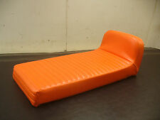 1970-1971 JOHNSON SKEEHORSE  *ORANGE PLEAT* SNOWMOBILE SEAT COVER!  *NEW*