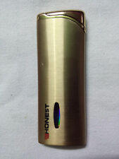 HONEST Cigarette Lighter Gas Refillable Jet Flame  Windproof