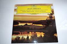 Schallplatte Jean Sibelius Berliner Philharmoniker Herbert von Karajan