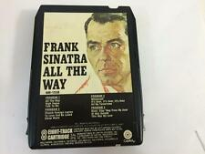 Frank Sinatra All The Way 8 Track Cartridge Capitol Records 8M 1538
