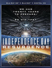 Independence Day: Resurgence (3D Blu-ray Disc ONLY, 2016)