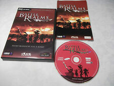 BATTLE REALMS PC-CD RTS STRATEGY V.G.C. FAST DISPATCH COMPLETE