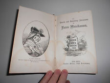 1865 The Travels and Surprising Adventures of Baron Munchausen