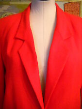 RED SUIT PETITE 8, POLYESTER RAYON, ELEGANT, SOPHISTICATED