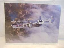 Budd Davisson WWII Airplane Framed 12x16 In Flight Photo B-25 Mitchell Bomber