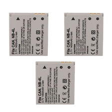 3x Battery NB-4L for CANON POWERSHOT SD200 SD400 SD750