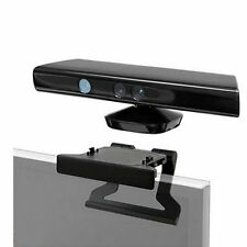 TV Clip Mount Mounting Stand Holder for Microsoft Xbox 360 Kinect Sensor HR
