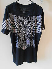 Xtreme Couture The Natural Randy Couture Black T-Shirt Size Large