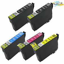 5 PK T220XL Ink For Epson XP320 XP420 XP424  WF2630 WF2650 WF2660 Printers