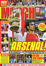 ARSENAL / BUTT MAN UTD / CUDICINI CHELSEA Match May 24 2002 - 3