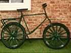 Dolls House Miniature 1/12th Scale Bicycle/Bike - Available in Green or Black