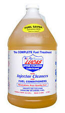 1 GALLON OF LUCAS FUEL (INJECTOR) TREATMENT CLEANER  #10013 Treats 400 gallons