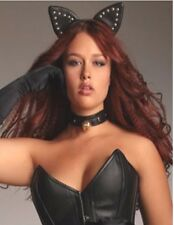 NWT Sexy Black Kitten Cat Set, 2 Piece Costume, Novelty