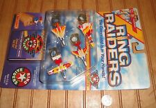 1988 Matchbox Ring Raiders Freedom Wing Commanders' Plane Series +Comic