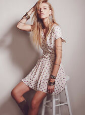 FREE PEOPLE BARBARA MINI DRESS US 10 UK 14