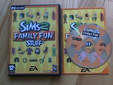 Les Sims 2 Amusement Pour Tte La Famille Trucs extension Pack PC CD ROM/Windows