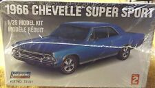 VINTAGE MODEL KITS--66' CHEVY CHEVELLE SS396--LINDBERG KIT--NICE-1/25 SCALE