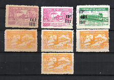 Argelia ( Algerie ) : lot 7 colis postaux