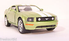 Lime Green 2006 '06 Ford Mustang GT Car Vehicle Diecast Model 1/38 Pull Back