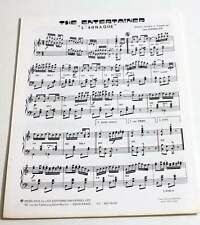 Partition sheet music BO Film THE ENTERTAINER (l'Arnaque) Newman / Redford